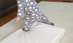 赤ちゃん 手作り おもちゃ ベビー布団 遊具