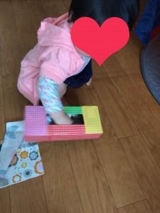 赤ちゃん 手作り おもちゃ いたずら ティッシュ