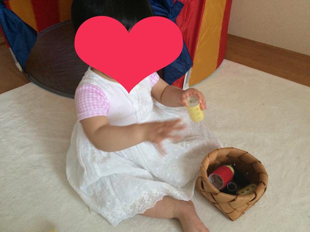 赤ちゃん おもちゃ 簡単 ヘアーカーラー